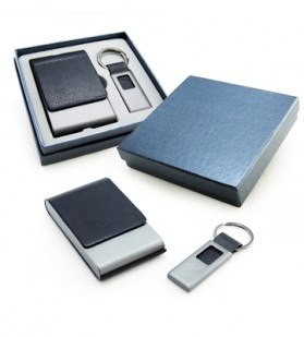 Namecard Case with Keychain Gift Set